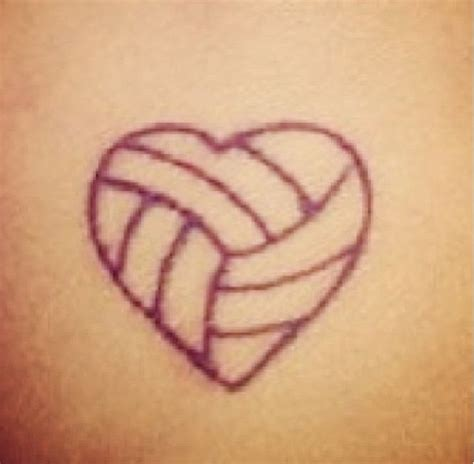 volleyball tattoo 75 best images about ideas on