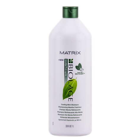 Matrix Biolage Scalptherapie Cooling Mint matrix biolage cooling mint shoo 33 oz liter