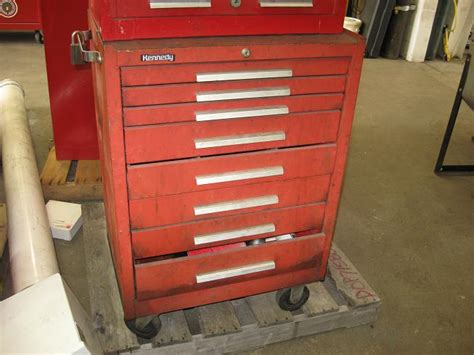 kennedy tool box 8 drawers on wheels no 7