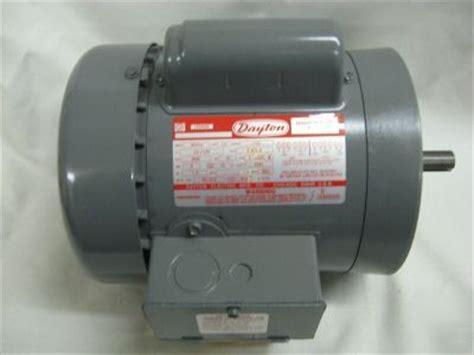 dayton capacitor start ac motor 3 4 hp dayton capacitor start motor ac 1 3hp 5k341