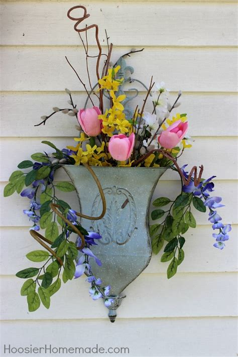 Homemade Decorations For Home by Spring Front Porch Decorating Hoosier Homemade