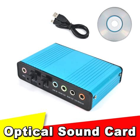 Sound Card Usb M Audio new usb 2 0 sound card 6 channel 5 1 optical external
