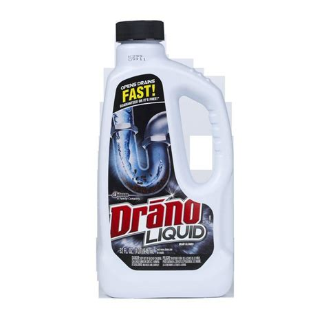 is drano safe for bathtubs drano 32 oz liquid drain cleaner 12 pack 00116 the