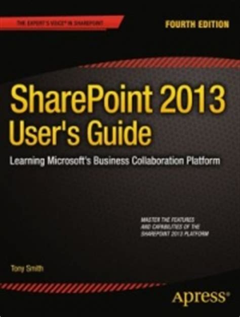sharepoint 2013 user s guide 4th edition free ebook pdf