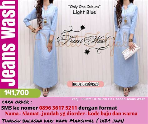 Top Bahan Denim Fit To L 1ab 127 best images about gamis murah di atas 100 ribu on fit html and jersey