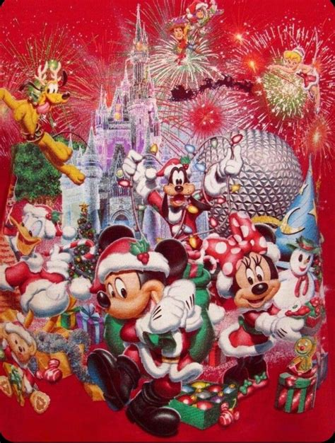 images  disney merry christmas  pinterest disney disney mickey mouse