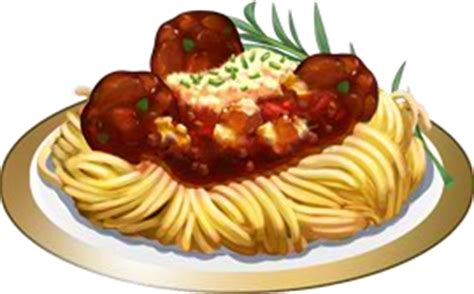 image recipe meatballs and pasta.png | chefville wiki