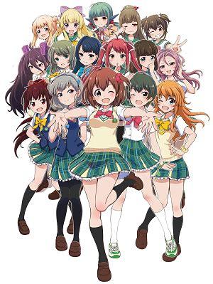 mobile battle high school gets anime