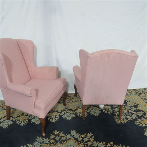 Pink Folding Cing Chair pink winged club chairs casey and gram