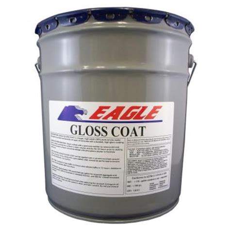 eagle 5 gal gloss coat clear look solvent based