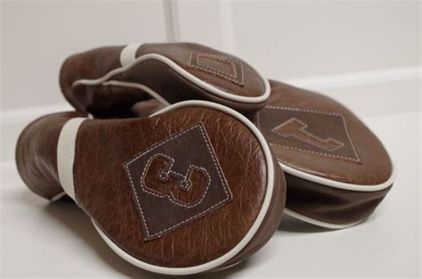 Handmade Golf Headcovers - 20 best images about custom leather golf headcovers on