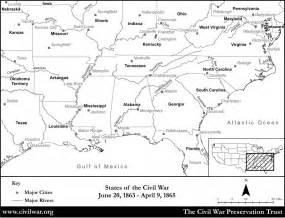 us civil war outline map best photos of civil war outline maps blank blank map