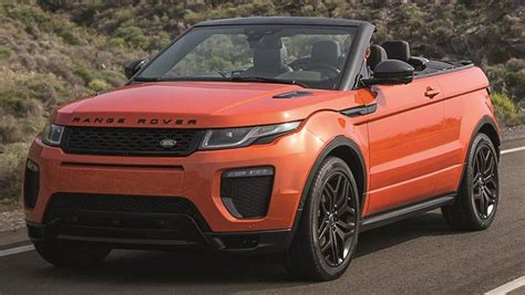 land rover car 2016 2016 range rover evoque convertible car sales price