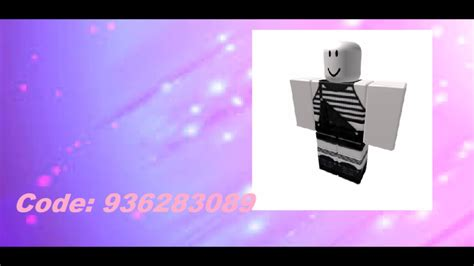 roblox clothes codes 10 girl clothes codes for roblox high school youtube