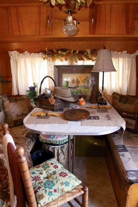 vintage camper interior  cute