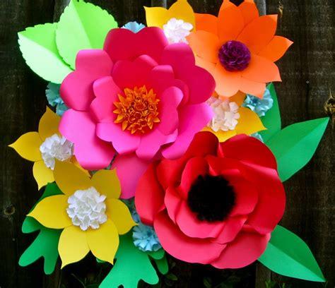 Large Paper Flowers - large paper flower backdrop paperflowerstudio