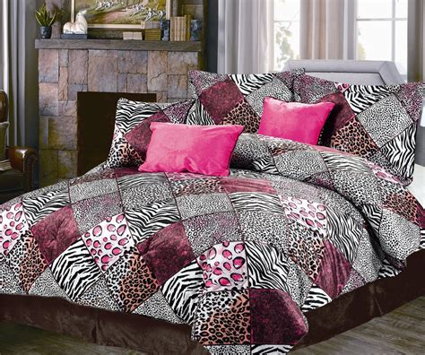 pink and black bedding extraordinary pink and black leopard print bedding easy
