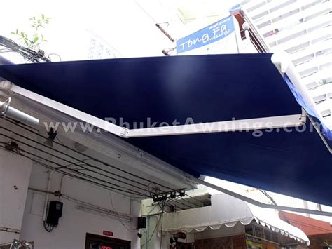 retractable arm awnings retractable folding arm awning phuket awnings