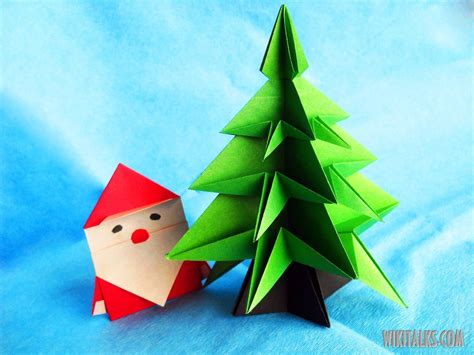 step by step christmas tree oragami wiki with pics origami origami santa claus easy origami how to make an easy origami