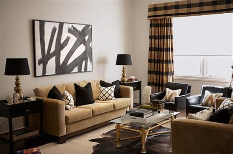 black gold living room black and gold living room contemporary living room diane bergeron interiors