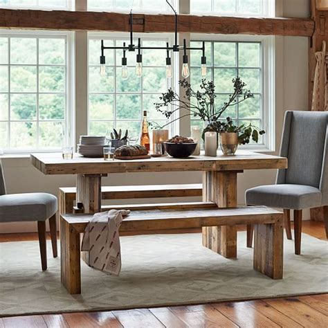 emmerson reclaimed wood dining table emmerson reclaimed wood dining table elm