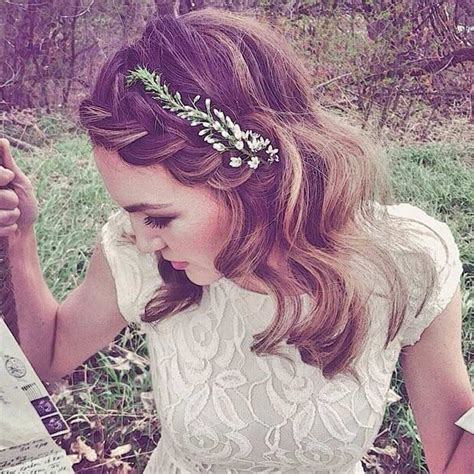 31 wedding hairstyles for to mid length hair stayglam