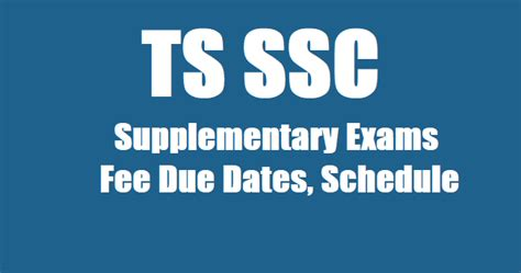supplementary h s c result 2015 ts ssc 2018 supplementary exams fee due dates schedule