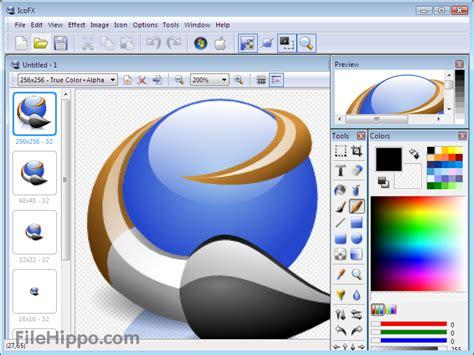 logo design software free version filehippo icofx 3 1をダウンロードする filehippo
