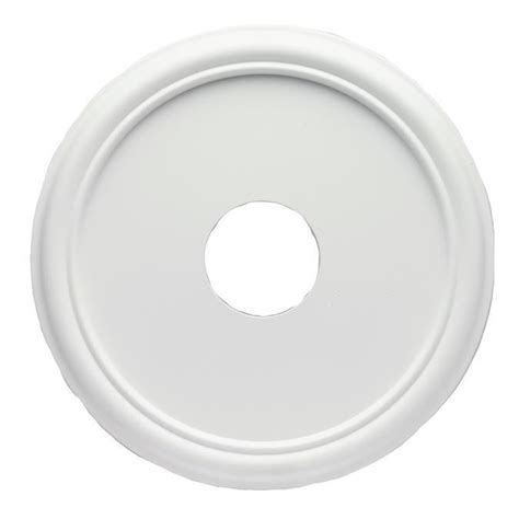 Plastic Ceiling Medallions by 7773200 Westinghouse 7773200 Smooth White Finish Molded