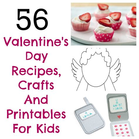 arts and crafts ideas for valentines day 56 s day arts and crafts printables and snack
