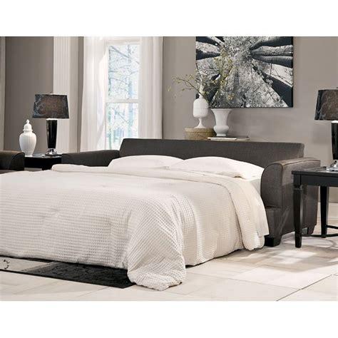 levon charcoal sofa sleeper levon charcoal sofa sleeper signature design by
