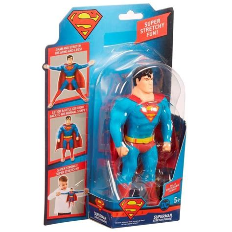 Mini Figure Superman Batman Robin justice league mini 7 quot stretch armstrong figures flash