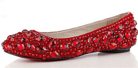 s formal shoes jeweled beaded flat heel