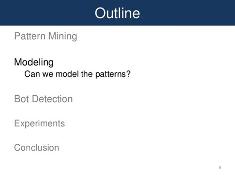 pattern mining definition rsc mining and modeling temporal activity in social media