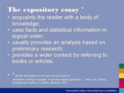 8 essay different essay types