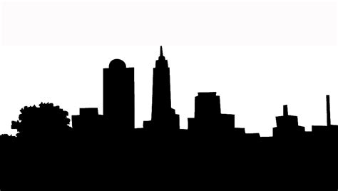 Skyline Outline by Pittsburgh Skyline Outline Cliparts Co