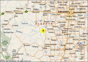 alberta canada map with cities emte town alberta canada america