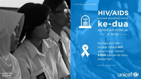 film dokumenter tentang hiv aids unicef indonesia on twitter quot infografis tentang hiv aids