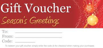 best photos of printable christmas gift vouchers blank
