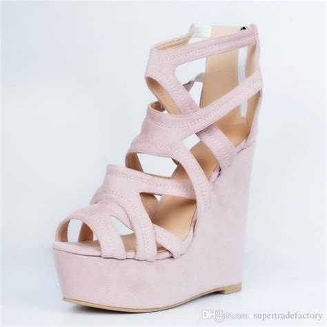 high heels with platforms comfortable light pink wedge high heels comfortable ladies sandals