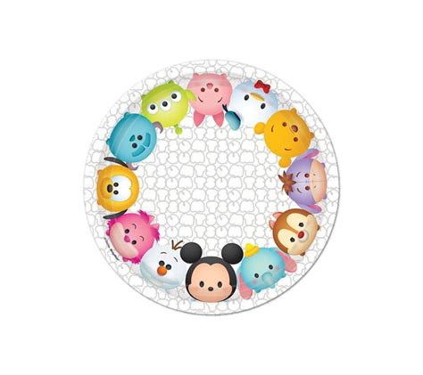 Cake Topper Tsum Tsum Poohfriends tsum tsum plates supplies singapore