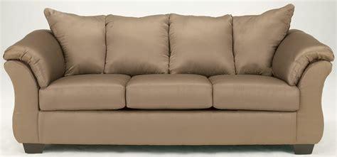 mocha couch ashley darcy mocha sofa 7500238 couch