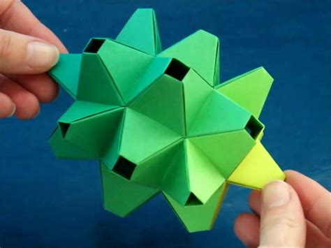 Origami Modules - origami modular durian dutchpapergirl