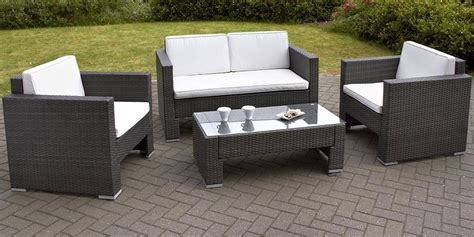 Wicker Outdoor Furniture by Rattan Garden Sofa Sets Best Choice Products Outdoor
