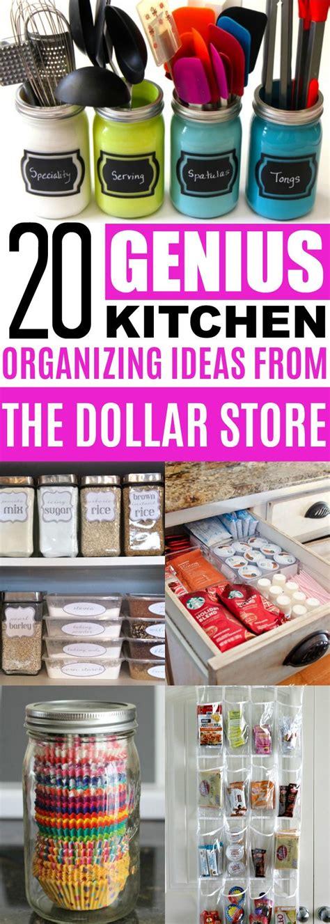 kitchen organizing ideas dollar store cheap organization