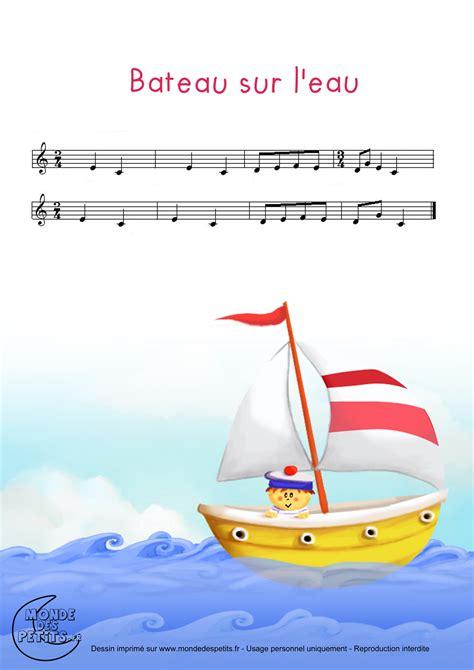 dessin anime bateau sur l eau monde des petits bateau sur l eau