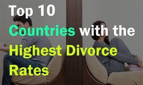 countries with highest divorce rates top 10 countries with highest divorce rate in the world