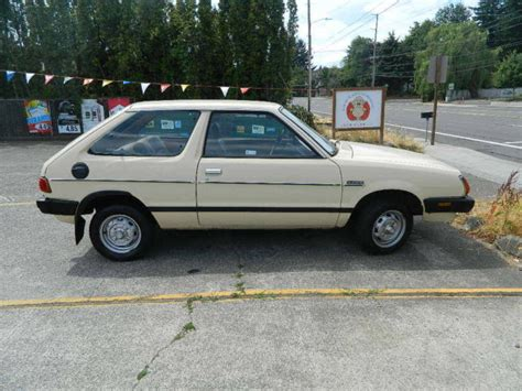 subaru hatchback 1980 subaru 1800 dl hatchback w 100k original miles nice