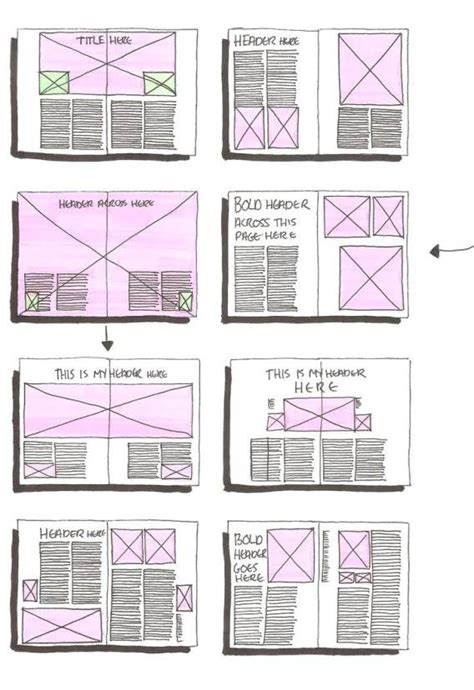 magazine layout media 17 best images about design layout doodles on pinterest