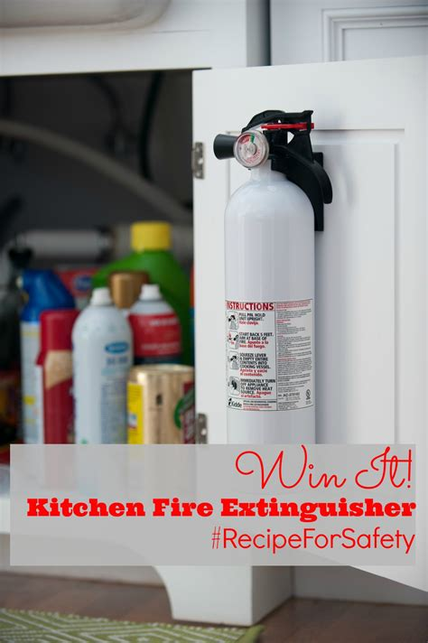 Extinguisher Shelf by Baking And Memories And Remembering Safety
